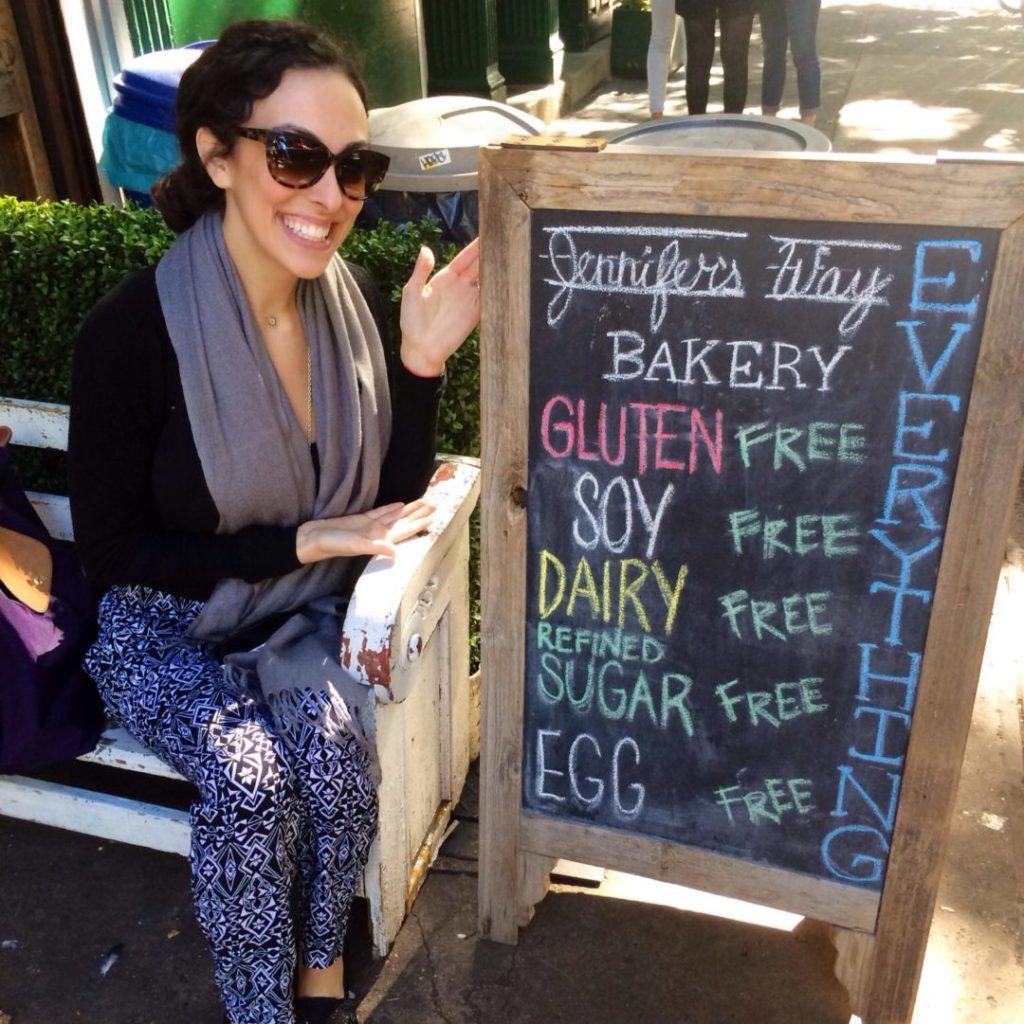 Mollie at Jennifer's way bakery