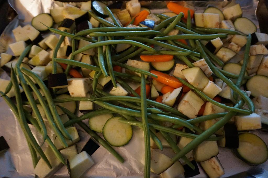 Miso Vinaigrette & Roasted Vegetables | Fit Fab Fodmap