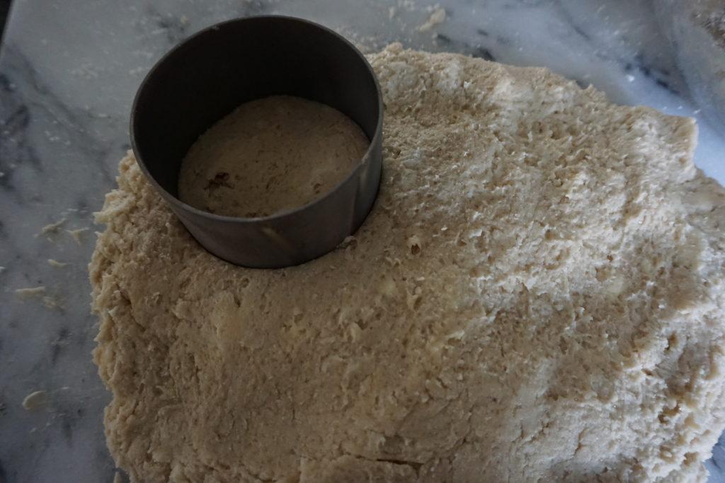 Cutting out Dough.