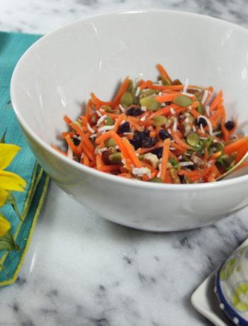 Grandpa's Carrot Slaw