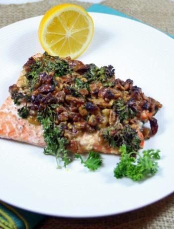 Baked Pecan Salmon