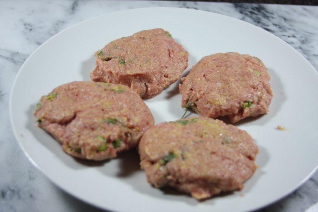 dill turkey burger meat