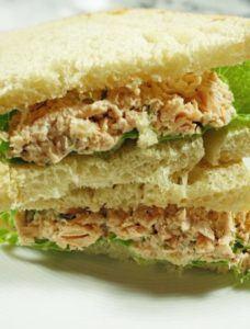 Salmon Salad Sandwhich