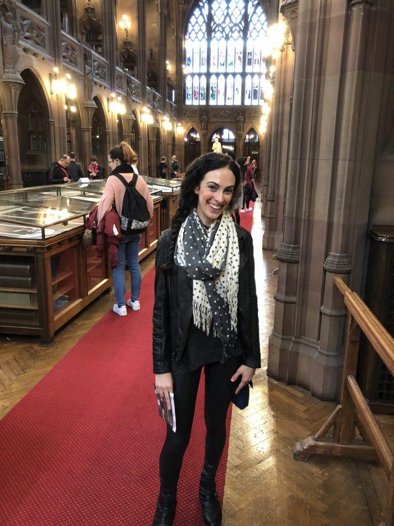 Inside the John Rylands Library