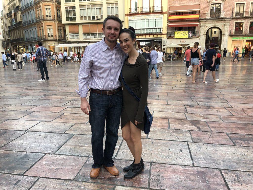 Enjoying Malaga's Town Square