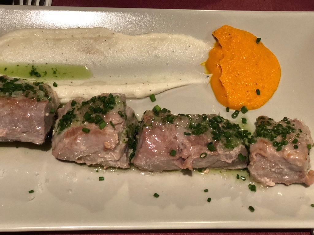 El Tapeo de Cervantes: Grilled Red Tuna Fish