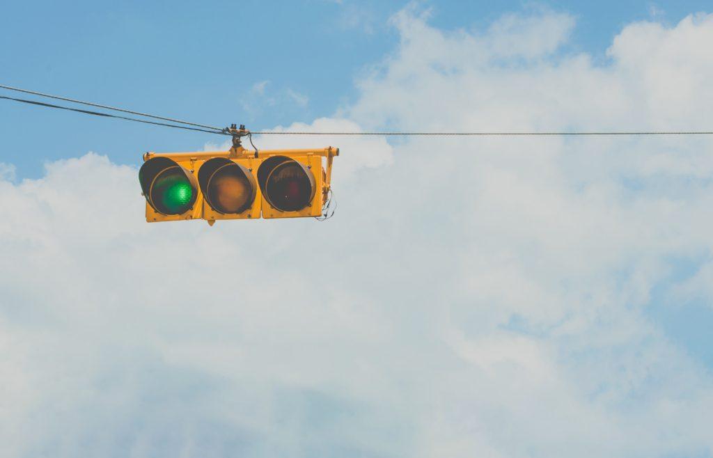 Green Traffic Light - low fodmap diet