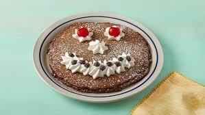 ihop funny face pancake