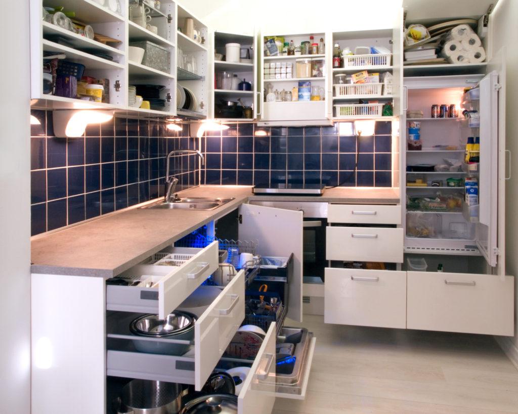 Kitchen organization tips.