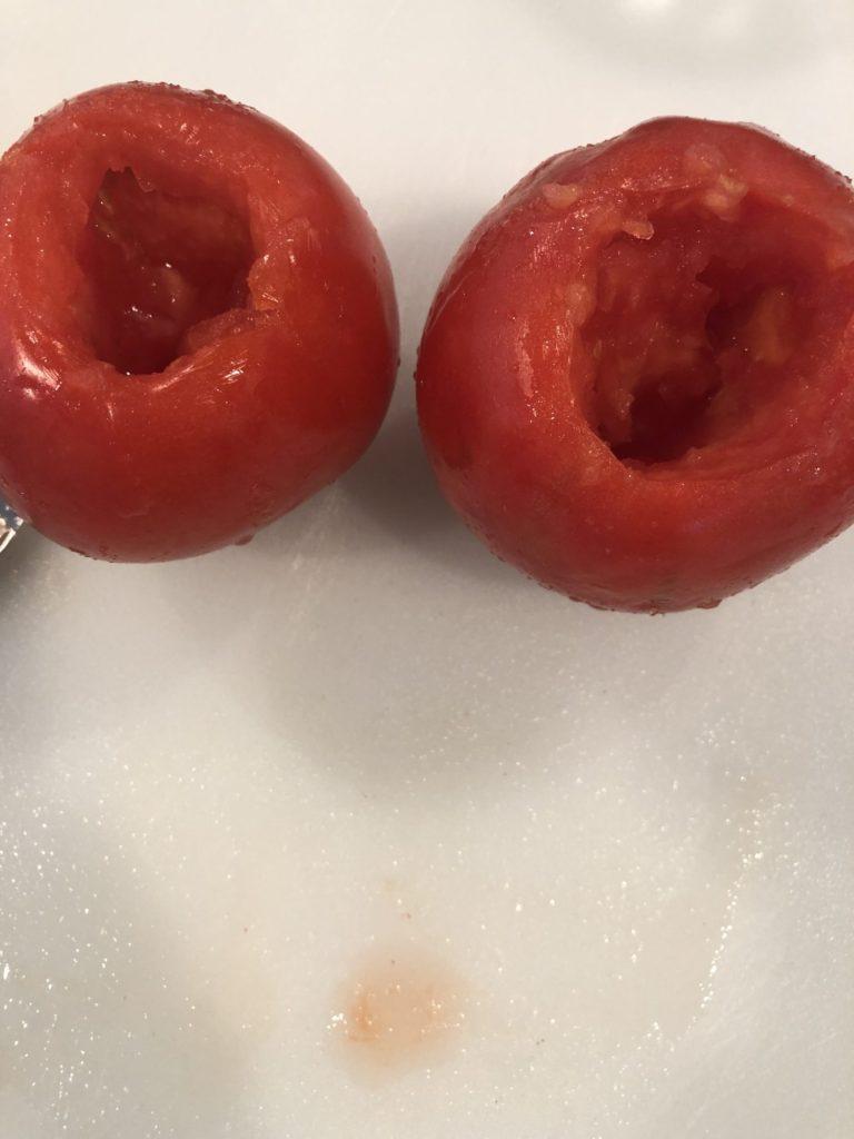 Cored Tomatoes